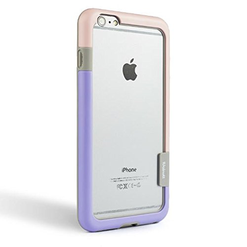 newest c8868 85128 Iphone6 Walnutt Double Colors Soft TPU Bumper Frame Case Cover For Apple  IPhone 6 Iphone 6 4.7 - Gojojo Online Mobile Accessories & Electronics Store